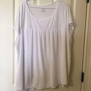 White T-shirt from Lane Bryant